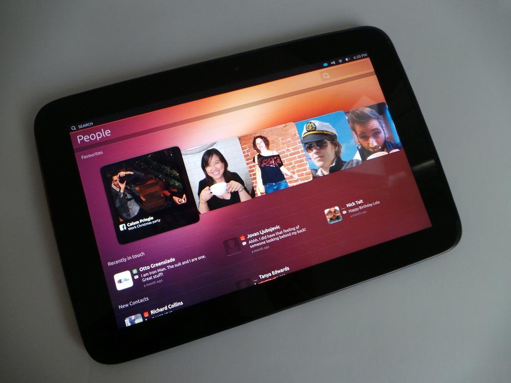 ubuntu touch для планшета