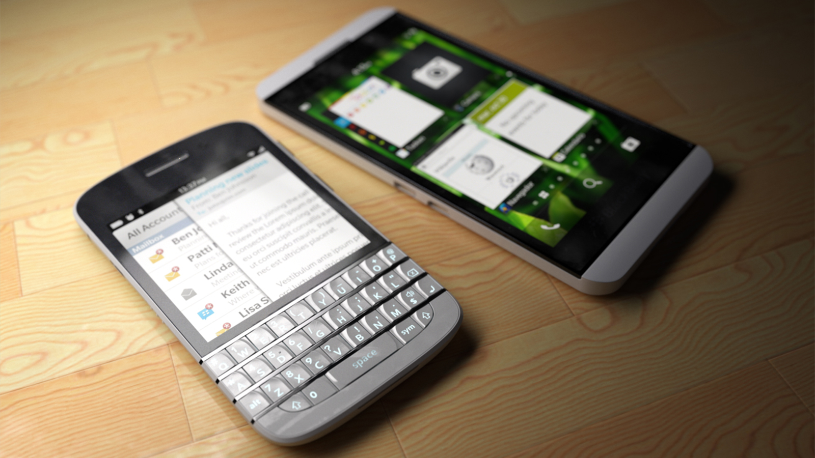 How to restore my data from blackberry protect