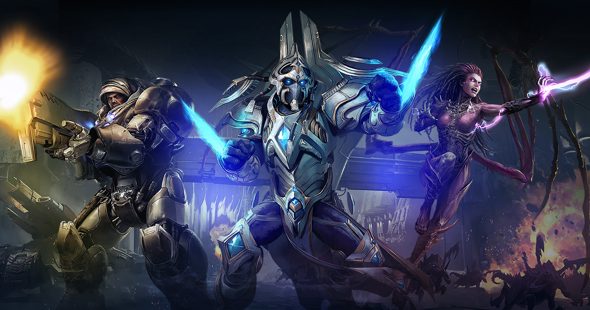 Врейтинговом режиме StarCraftII можно сразиться сИИ, победившим киберспортсменов