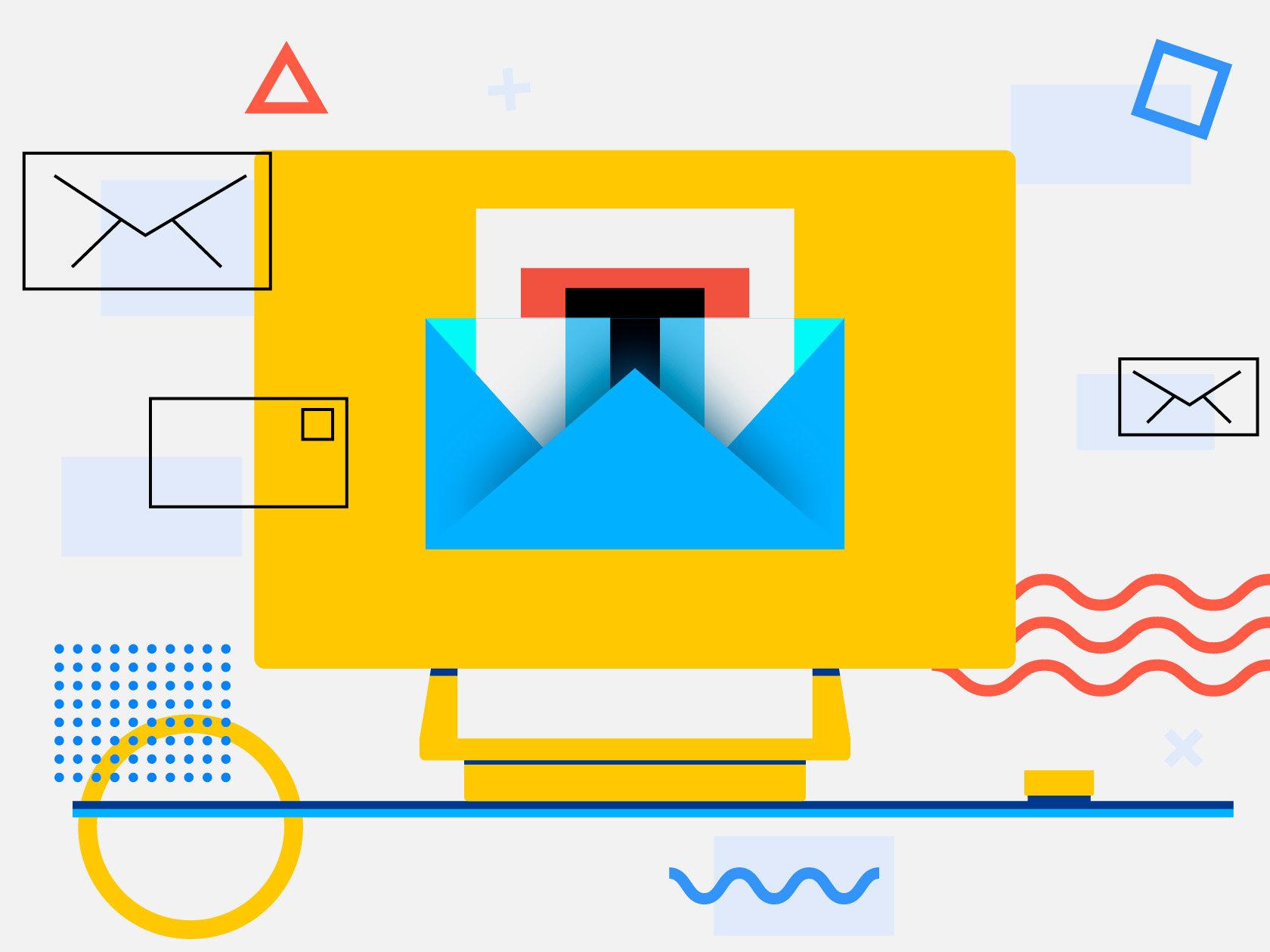 История электронной почты: от первых писем и до наших дней