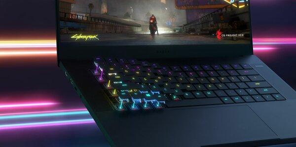 Razer Blade 15 Advanced— первый вмире ноутбук соптической клавиатурой