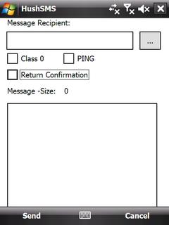 Скачать HushSMS 1 9 2 Full для Windows Mobile