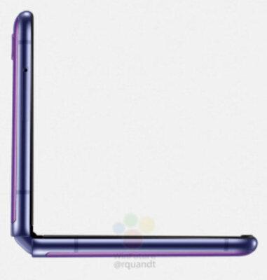 В сеть попали официальные рендеры раскладушки Samsung Galaxy Z Flip