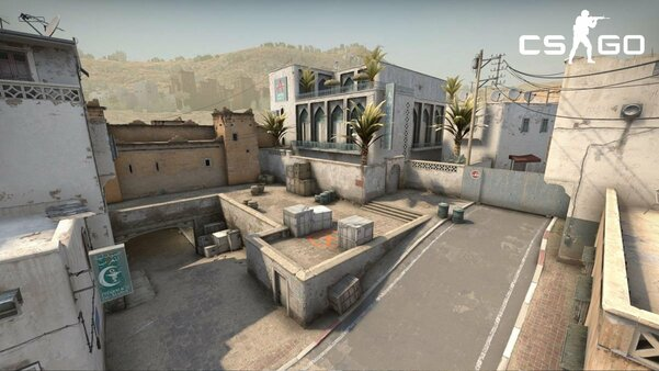 Одну изсамых известных карт CS:GO воссоздадут вFortnite