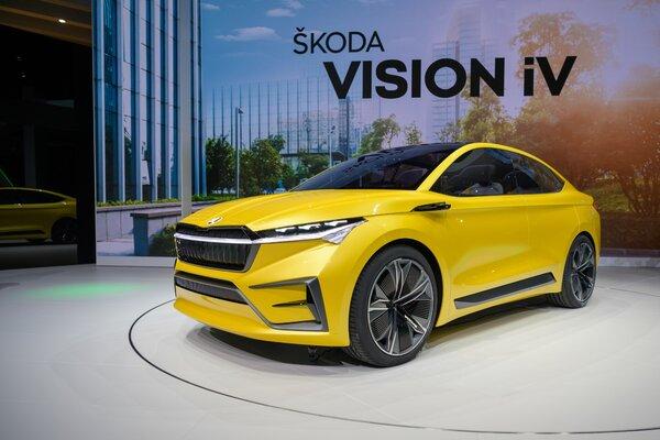 Skoda ENYAQ станет первым электрическим кроссовером автопроизводителя