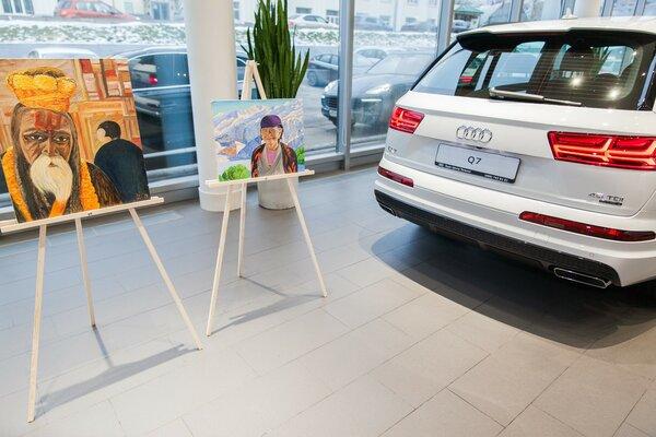 В автосалоне Audi вМоскве прошёл вечер искусств