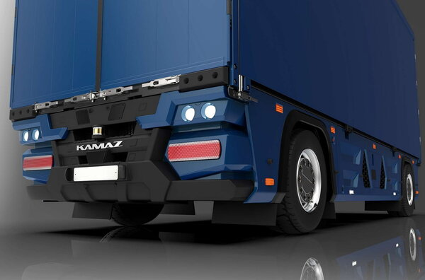 Представлен первый электрический грузовик безкабины, иэто КАМАЗ