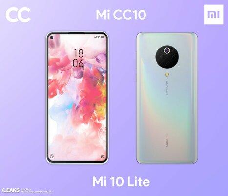 Другой Xiaomi: появились первые изображения Xiaomi Mi 10 Lite