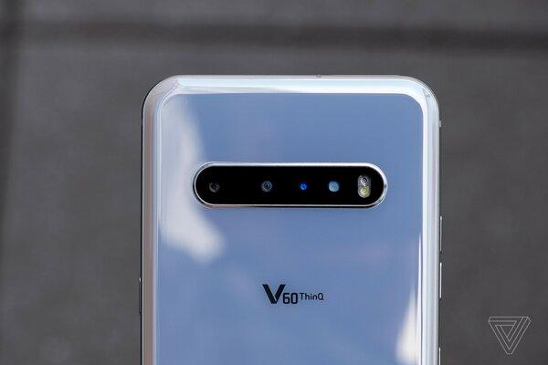 LG представила V60 ThinQ— скучный флагманский смартфон безинноваций