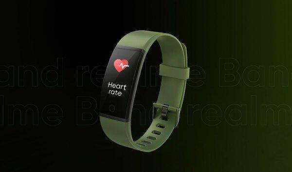 Первый фитнес-браслет Realme раскрыли допрезентации