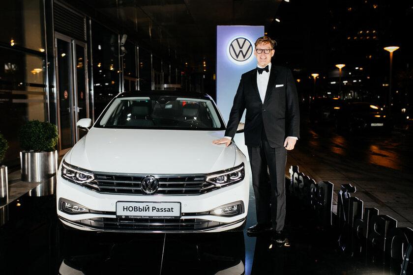 В Москве состоялся Бал немецкой экономики, где показали новый Volkswagen Passat