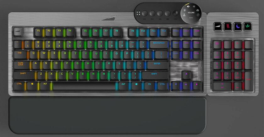 Модульная игровая клавиатура Mountain Everest отправилась врелиз