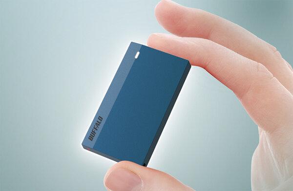 Внешний SSD на1 ТБ весит 15 грамм