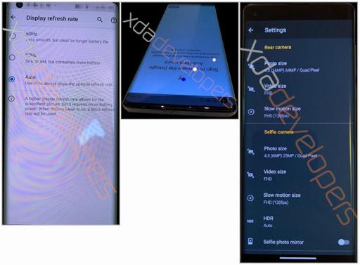 Раскрыты характеристики Motorola Edge: средний класс сдисплеем-водопадом, Snapdragon 765 икамерой на64 Мп