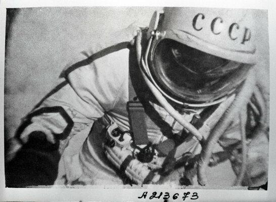 Россия рассекретила документы опервом выходе человека воткрытый космос