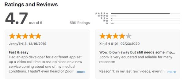 Школьники обвалили рейтинг приложения длявидеосвязи Zoom