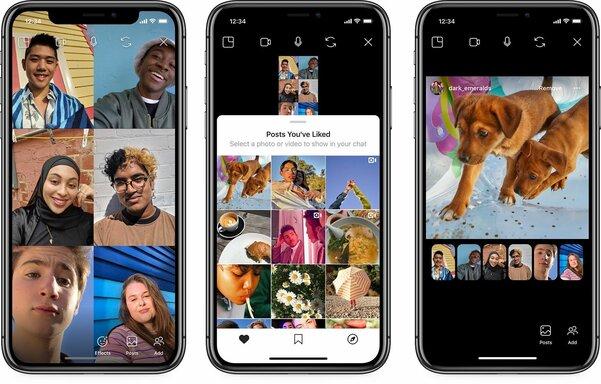 Instagram накарантине: совместный просмотр публикаций, новые стикеры иобщие истории