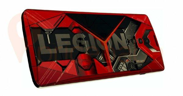 Раскрыт дизайн будущего игрового смартфона отLenovo: геймерам понравится