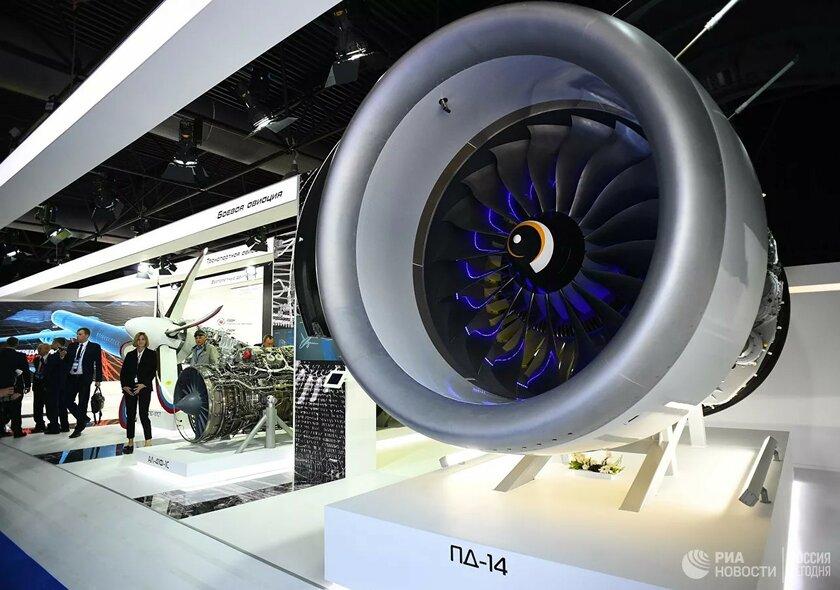 Россия приступила ксерийному выпуску двигателей ПД-14 длясамолёта МС-21