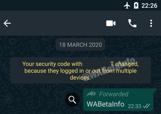 WhatsApp можно будет запускать нанескольких смартфонах одновременно