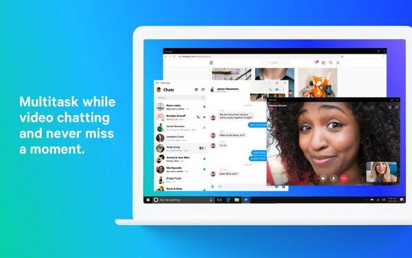 Приложение Facebook Messenger длякомпьютеров уже доступно