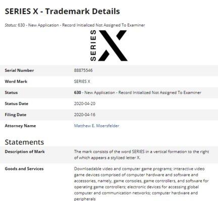 Microsoft зарегистрировала марку Xbox Series X изасветила новый логотип консоли