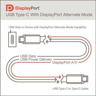 DisplayPort Alt Mode 2.0 позволит подключать 8K-дисплеи кUSB4-порту
