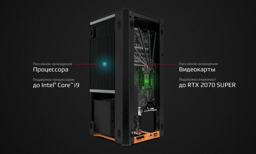 HYPERPC представила полностью бесшумный мощный компьютер MUTE