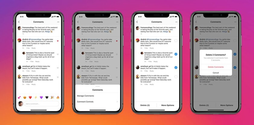 Instagram теперь позволяет закреплять комментарии ивнедряет мультибан