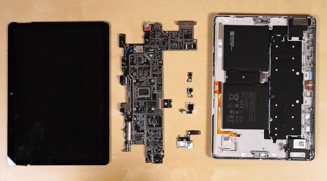 Surface Go оказался ремонтопригоднее, чем предшественник