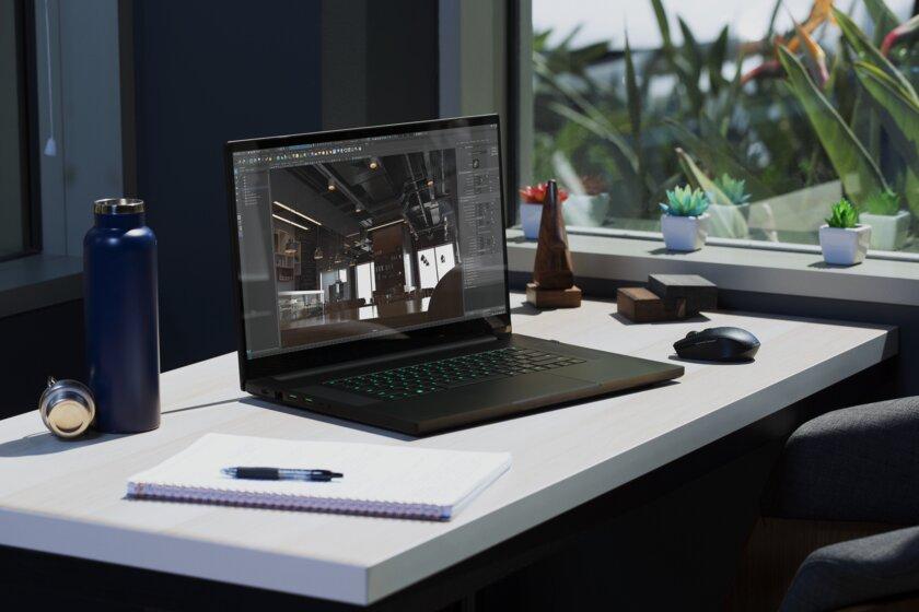 Ноутбук Razer Blade Pro 17 получил дисплей счастотой 300 Гц (и это неопечатка)
