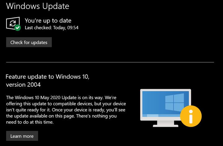 В Windows 10 May 2020 Update много ошибок. Выпуск приостановлен