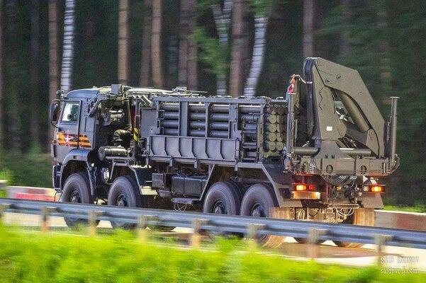 На параде Победы покажут новейшие боевые машины дистанционного минирования