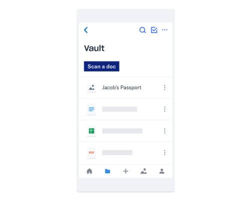 Dropbox представил менеджер паролей, сейф длядокументов ифункцию бэкапа системных папок