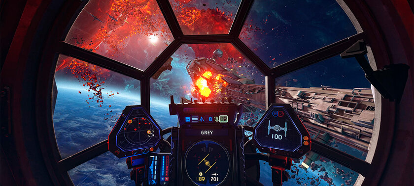 EA: вStar Wars Squadrons небудет микротранзакций