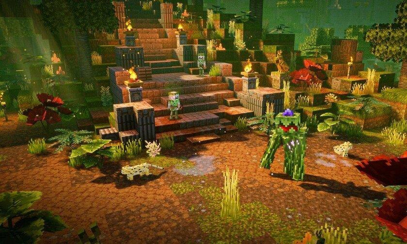 Первое DLC дляMinecraft Dungeons: новые миссии, монстры иэкипировка