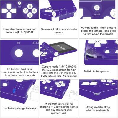Представлена FunKey S— недорогая мини-приставка размером сбрелок длятысяч ретроигр