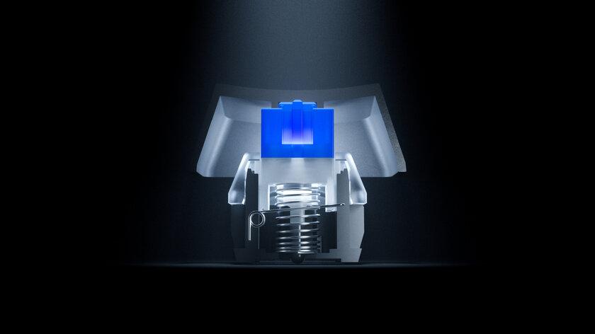 Обзор SteelSeries Apex 5: дисплей вместо индикаторов — Тактильные полумеханические переключатели. 5