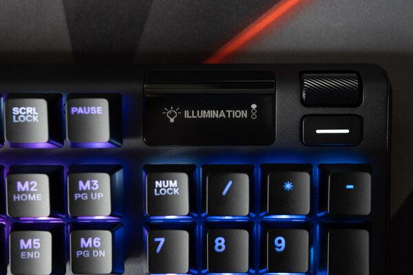 Обзор SteelSeries Apex 5: дисплей вместо индикаторов — Многофункциональный дисплей. 2