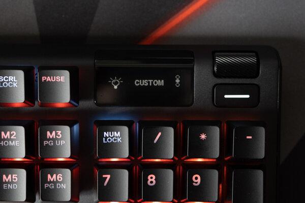 Обзор SteelSeries Apex 5: дисплей вместо индикаторов — Многофункциональный дисплей. 7