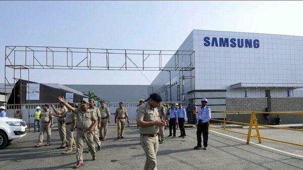 В Индии украли детали длясмартфонов Samsung насумму 330 тыс. долларов