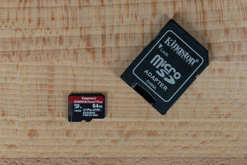 Тест карты памяти Kingston Canvas React Plus: накопитель дляпрофи