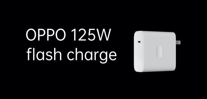 125 Вт длясмартфонов: OPPO представила быструю зарядку срекордной мощностью