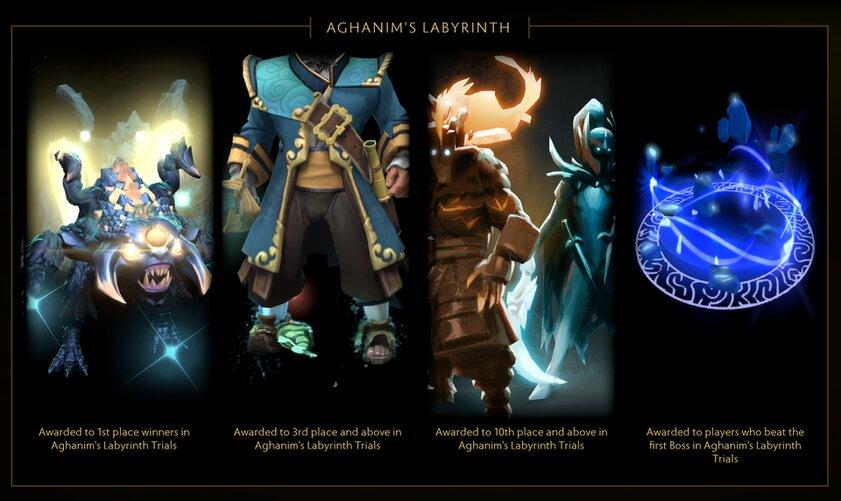 В Dota 2 запустили ивент Лабиринт Аганима: он доступен всем