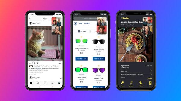 Facebook представил функцию совместного использования экрана вMessenger насмартфоне