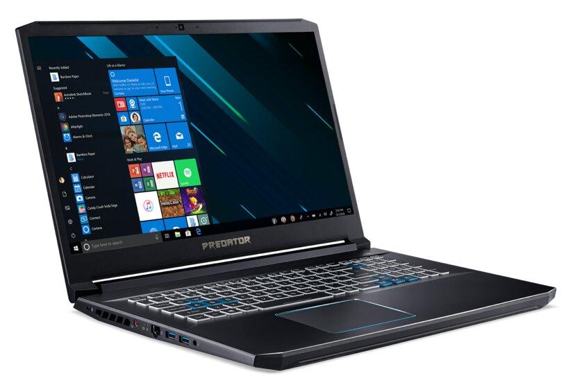 Acer привезла вРоссию обновлённые геймерские ноутбуки Predator Helios 300 иTriton 500