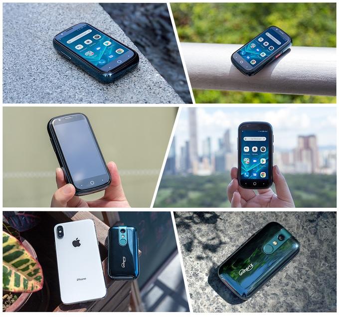 Самый маленький смартфон наAndroid 10 собрал более 500000 долларов наKickstarter