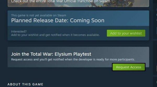 В Steam теперь можно запрашивать доступ кбета-тестированию