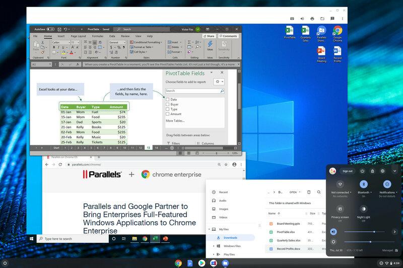 В Chrome OS появится полноценная поддержка Windows-приложений. Как это будет работать