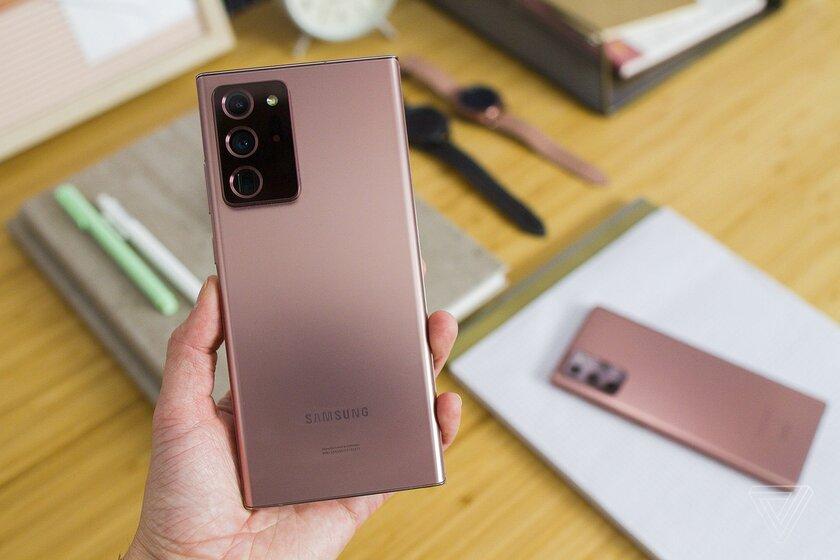 Samsung представила Galaxy Note20: эталонные флагманы сэлегантным дизайном